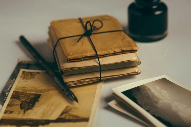 Lettres à envoyer.